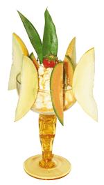 Melonen-Becher